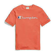 NEW Champion Life Men's Heritage Tee Script Logo T1919G 549465 Select Color Size