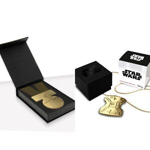 Star Wars Medal Of Yavin and Japor Necklace officially Licensed Collectors NEW