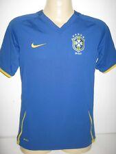 "Brazil Away Nike Football Shirt Boys Girls Ladies Soccer Jersey Youth Large 34"""