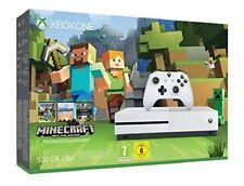 GUT: Xbox One S 500GB Konsole mit Controller Minecraft Bundle ohne Spiel