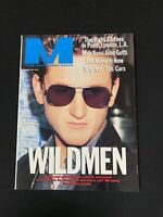 The Civilized Man Magazine March 1990 - Sean Penn, John Gotti