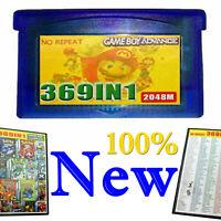 Neuf 369in1 Carte de jeu multi-jeux Cartouche Pour NDS GBA SP NDS NDSL Multicart