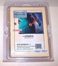 NEW Kingston 16MB Memory Kit Compaq LTE 5000 Series (2x213536-001) KTC-E5000/16