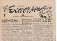 1971 SOCCER NEWS UNITED STATES BOLOGNA - WEST HAM UNITED IN USA
