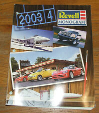 REVELL MONOGRAM USA Catalog 2003-4 Edition