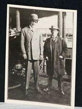 1904 James Corbett & John McGraw, Vintage 1915 Restrike, Only Vintage Example