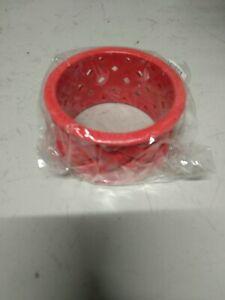 Hard Plastic Bracelets 6 Pcs