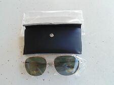 USN NAVY NAVAL AVIATION CHIEF CPO WO OFFICER GOLD FRAME AVIATION GLASSES W/ CASE
