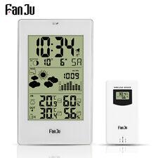 Wetterstation mit Außensensor Funk DCF-Empfangssignal mit Barometer Thermometer
