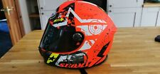SUOMY SR SPORT STARS ORANGE Motorbike/Motorcycle Full Face Helmet xl
