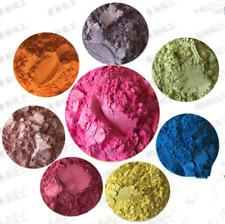 Perla pigmento en polvo de lujo ultra-brillo metálico PIGMENTOS TINTE de resina de epoxy