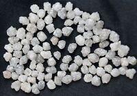 2.0 CT LOT 2.0-3.0 MM NATURAL WHITE RAW DIAMOND UNCUT ROUGH DIAMOND AFRICA