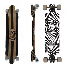 Easy People Longboards DD-0S Drop DownLongboard Complete Deck Lowrider Watch Out