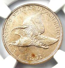 1857 Flying Eagle Cent 1C  Penny - Certified NGC Uncirculated Details (UNC MS)