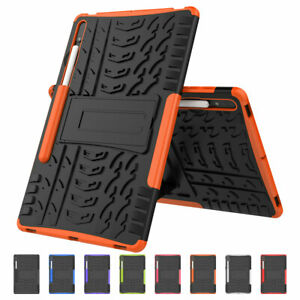For Samsung Galaxy Tab S2 S3 S5e S7 Plus Shockproof Double Layer Rugged Case
