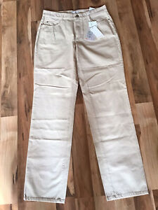 Mac Stella Jeans Gr. 42 L 34 Farbe Beige NEU