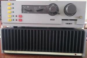 Quad 405-2 amp, 44 preamp