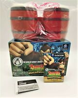 Donkey Kong: Jungle Beat Video Game & Bongos Nintendo GameCube NTSC-J JAPANESE