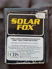 SOLAR FOX Atari 2600 Game