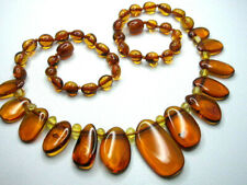 REAL BALTIC AMBER LADIES' NECKLACE 45 cm