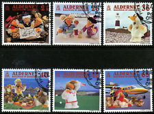 Alderney 2000 A Wombling Holiday (Children's TV Characters) Set FU CTO SGA146-51
