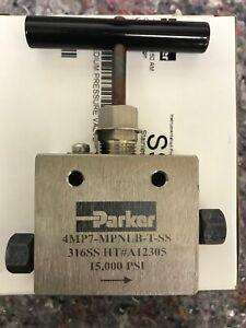 Parker medium pressure valve 4MP7-MPNLB--T-SS