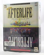 Vintage Big Box PC Sealed - LucasArts Afterlife Sim IBM CD Near MINT