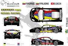 "[FFSMC Productions] Decals 1/18 Ferrari F-430 Scuderia GT ""Kessel Racing"""