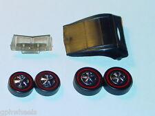 Hot Wheels Redline CLASSIC CORD REPRO TOP, GLASS, & WHEELS -REBUILD KIT!
