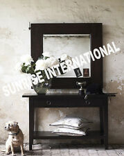 Modern  Wooden Dressing table / Hallway table with Mirror Frame !