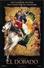 The Road To El Dorado movie poster : 11 x 17 inches