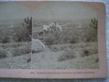 1800s SMILIE'S PARADISE ON EARTH, CALIFORNIA STEREOVIEW