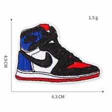 Sneaker Basketball Shoe Embroidered Patch For Clothing Iron on Sew on Diy Fashio