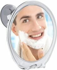 PROBEAUTIFY FOGLESS Shower Mirror for Shaving - Strong Suction Cup, Razor Holder