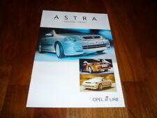 Opel Astra IRMSCHER Prospekt 08/2004