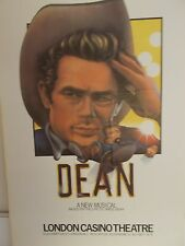 RARE  JAMES DEAN 1977 THEATER POSTER