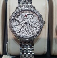 50% Off Michele watch MW21B01A1084-Serein 16 Swan Dimnd Dl-New from auth dealer