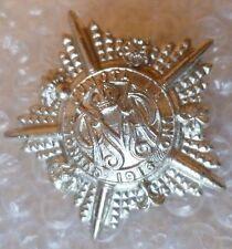 Badge- Guards Machine Gun Battalion British Army Cap Badge- KC (White Metal)