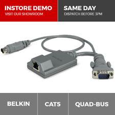 Belkin Quad-Bus miniDIN8 Server KVM Switch Interface Module over CAT5 CAT6