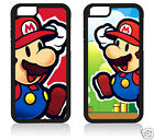 SUPER MARIO BROS IPHONE SE 4 4S 5 5S 5C 6 6S 7 PLUS COVER CASE CARCASA FUNDA