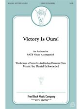 Schwoebel David Victory Is Ours SATB Choral Sing Choral Voice SHEET MUSIC BOOK