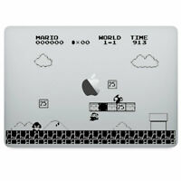 """Mario Gaming Vinyl Decal Sticker for Macbook Air Pro 11 13 15 17"""" Laptop Wall"""