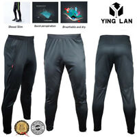 Men's Sport Athletic Soccer Fitness Training Running Casual Pants Trousers S-2XL