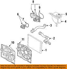 BMW OEM 06-08 750i Radiator Coolant-Lower Hose 17127508011