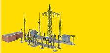 Kibri # 39840 Baden Baden Electrical Substation w/Lights Kit  HO Scale MIB