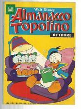 ALMANACCO TOPOLINO 166 OTTOBRE 1970
