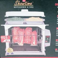 ROSCOE SHOWTIME ROTISSERIE & BBQ DELUXE ACCESSORY PACKAGE! OPEN BOX!