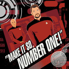Star Trek Cotton Fabric by The Yard Red Uniform Next Generation Space Movie