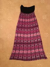 Ladies Gorgeous Strapless Boobtube Maxi Dress Size 10