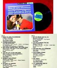 LP Ann Louise Hansson & Boris: Bara fä Vara Tillsammans (Metronome HLP 10 503)